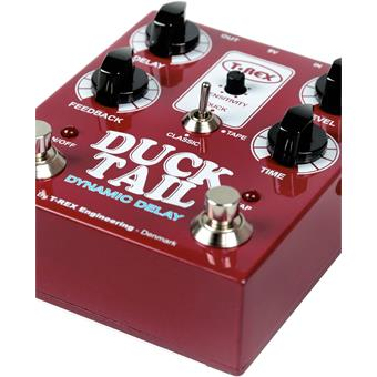 T-Rex Duck Tail Dynamic Delay delay/echo/looper pedaal