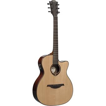 Lâg T400ACE Tramontane acoustic-electric cutaway orchestra guitar