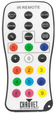 Image of Chauvet IRC Infrared Remote Control 781462207328