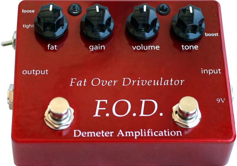 Image of Demeter FOD1 Fat Overdrive 0000000000000