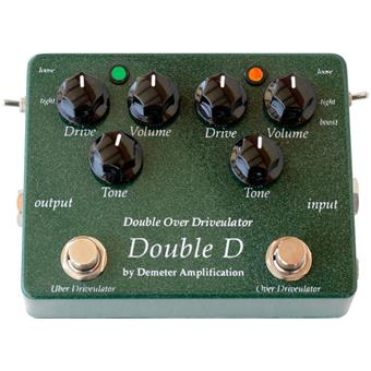 Demeter DD1 Double Overdrive guitar effect