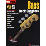 Hal Leonard Fast Track Bass Rock Songbook