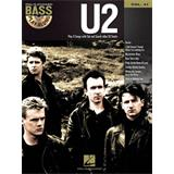 Hal Leonard Bass Play Along Volume 41 U2 Bass Guitar