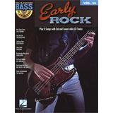 Hal Leonard Bass Play Along Volume 30 Early Rock