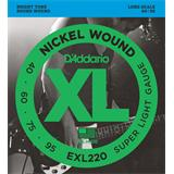 D'Addario EXL220 Super Light 40-95