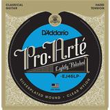 D'Addario EJ46LP Pro-Arte LP Composite Hard Tension Clear Nylon