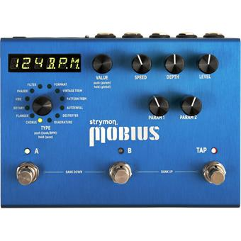 Strymon Mobius flanger/phaser pedaal