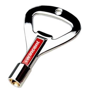 Wincent Rock Key Chrome clé de batterie