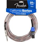 Fender California 14GA Speaker Cable Jack Speakon 7.5 Meter