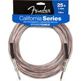 Fender California 16GA Speaker Cable Jack 7.5 Meter