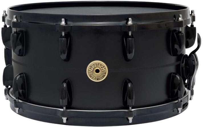 Image of Gretsch Drums 130-7142S-SBB 130th Anniversary Black Aluminum 0000000000000