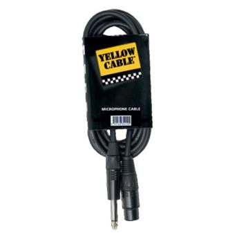 Yellow Cable M05JX XLR M/Jack Male XLR - Jack cable