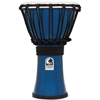 Toca TFCDJ-7MB Freestyle Colorsound Djembe Metallic Blue djembe