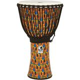 Toca SFDJ-12K Synergy Freestyle Djembe Rope Kente Cloth