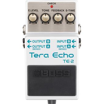 Boss TE-2 Tera Echo delay/echo/looper pedal