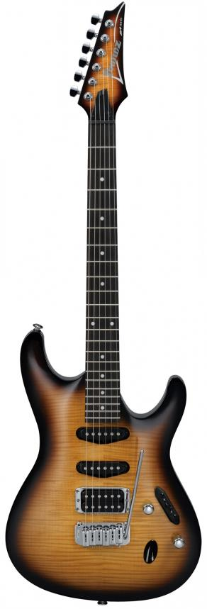 Ibanez SA160FM Brown Burst