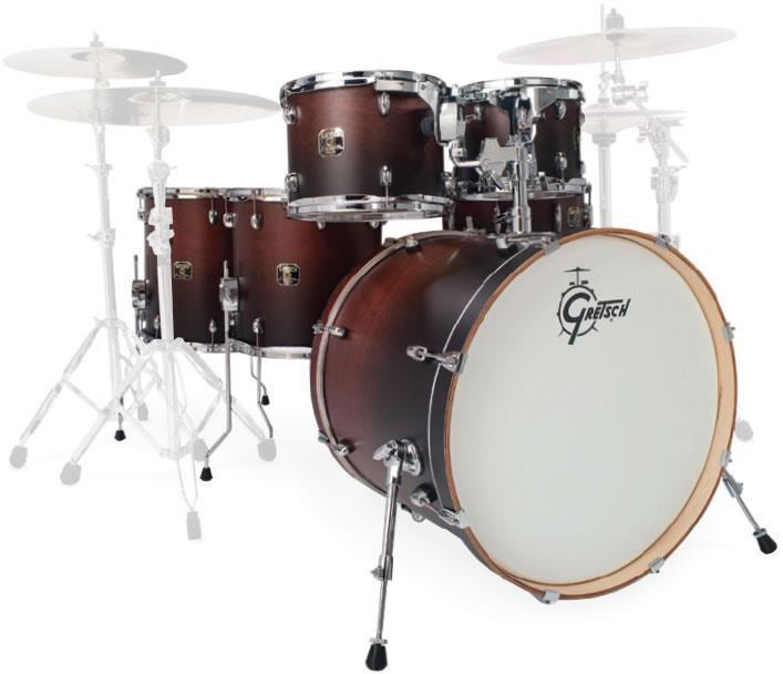 gretsch drums cmt e8262 catalina maple limited satin walnut fade keymusic. Black Bedroom Furniture Sets. Home Design Ideas