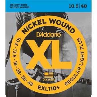 D'Addario EXL110Plus Regular Light Plus 010 snarenset voor elektrische gitaar
