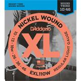 D'Addario EXL110W Regular Light Wound 3rd