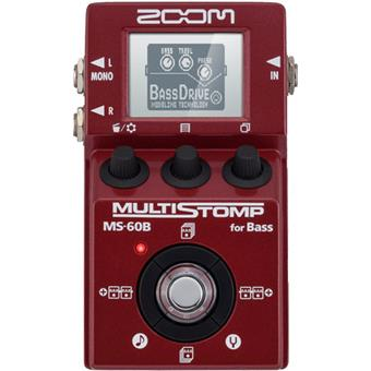 Zoom MS-60B Multistomp multi effet guitare basse