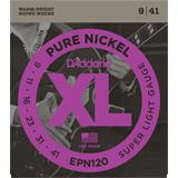 D'Addario EPN120 Pure Nickel Super Light