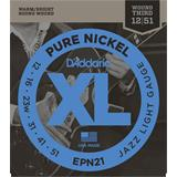 D'Addario EPN21 Pure Nickel Jazz Light