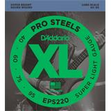 D'Addario EPS220 ProSteels Bass Super Light 40-95