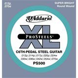 D'Addario PS500 ProSteels C6th-Pedal Steel Guitar