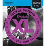 D'Addario EXL120BT Balanced Tension Super Light 09-40