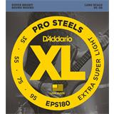 D'Addario EPS180 ProSteels Bass Extra Super Light 35-95