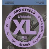 D'Addario EPS190 ProSteels Bass Custom Light 40-100
