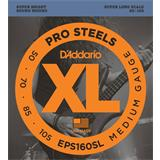 D'Addario EPS160SL ProSteels Bass Medium Super Long 50-105