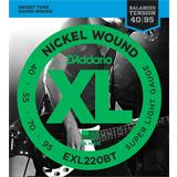 D'Addario EXL220BT Balanced Tension Super Light 40-95