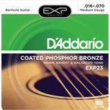D'Addario EXP23 Coated Phosphor Bronze Baritone 16-70