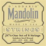 D'Addario JS74 Stainless Steel Mandolin Strings 11-40