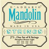 D'Addario J73 Phosphor Bronze Light Mandolin Strings 10-38
