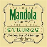 D'Addario J76 Phosphor Bronze Mandola Strings 15-52