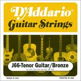 D'Addario J66 Tenor Guitar/Bronze Strings