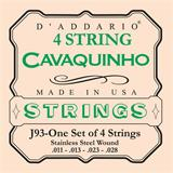 D'Addario J93 Stainless Steel Cavaquinho Strings