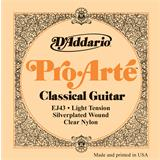 D'Addario EJ43 Pro-Arte Classical Light Tension Clear Nylon