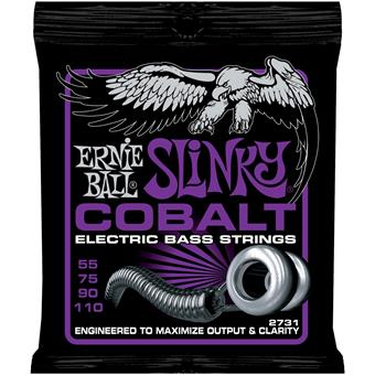 Ernie Ball 2731 Cobalt Power Slinky Bass snarenset voor basgitaar