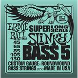 Ernie Ball 2850 Super Long Scale Slinky Bass 5-String