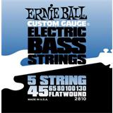 Ernie Ball 2810 Flatwound Bass 5-String
