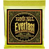 Ernie Ball 2560 Everlast Coated 80/20 Bronze Extra Light