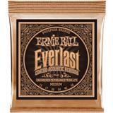 Ernie Ball 2544 Everlast Coated Phosphor Bronze Medium
