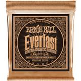 Ernie Ball 2546 Everlast Coated Phosphor Bronze Medium Light