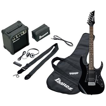 Ibanez IJRG200 Jumpstart Black electric guitar pack