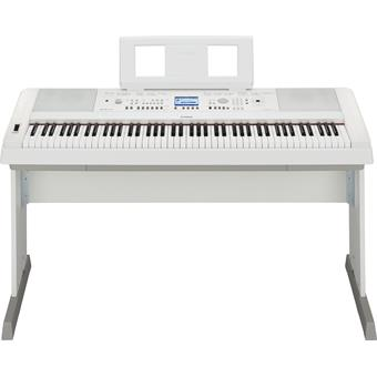 Yamaha DGX-650 White digitale arranger piano