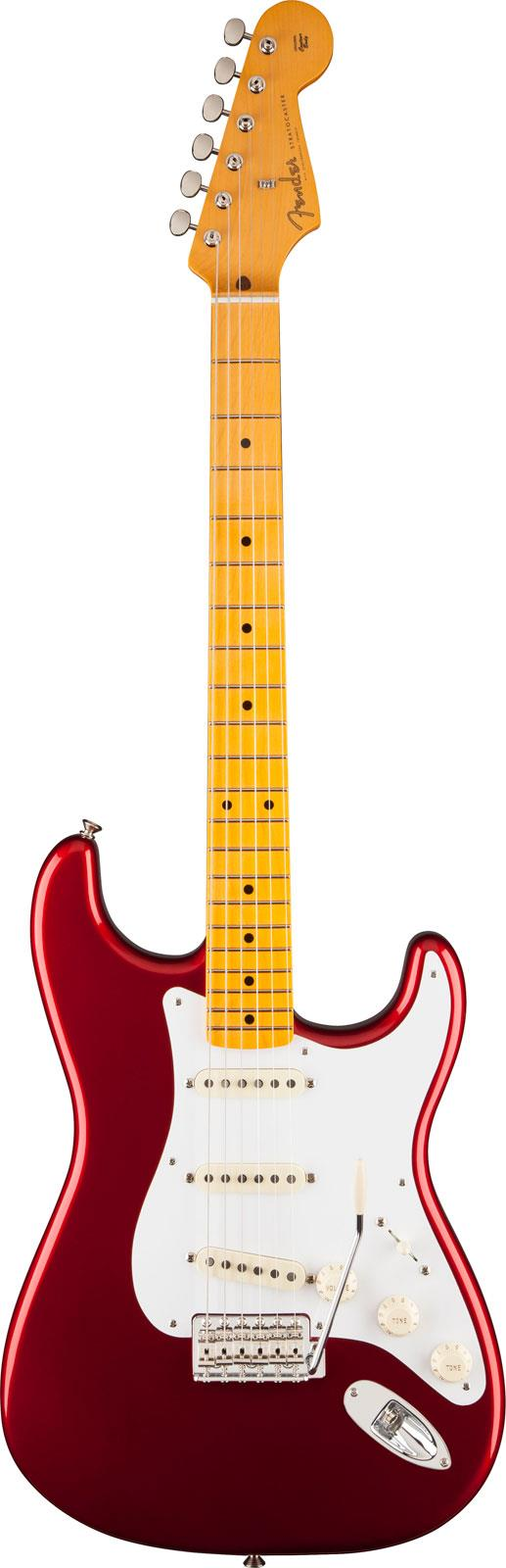 Fender Classic Series 50s Stratocaster Lacquer Candy Apple Red