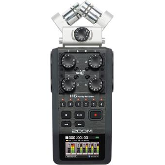 Zoom H6 mobiele recorder